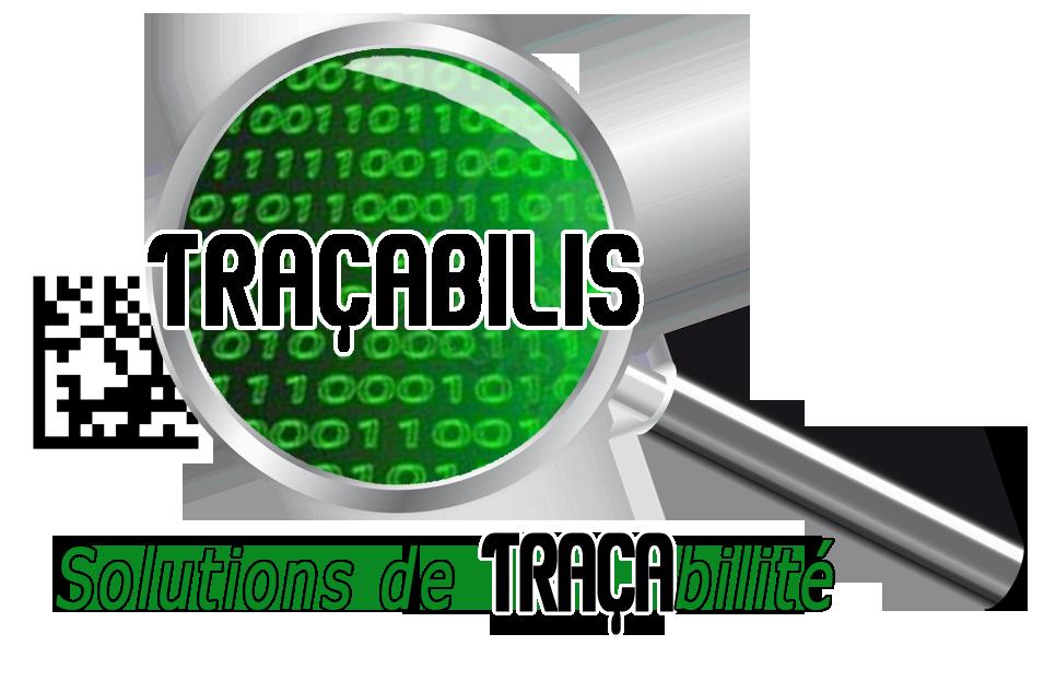 LOGO TRACABILIS LOUPE Solutions de traçabilité